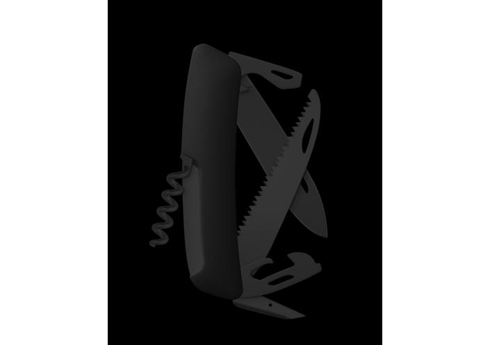 Swiza Swiss Knives Couteau suisse Swiza D05 Allblack KNI.0053.1000 - Coutellerie du Jet d'eau