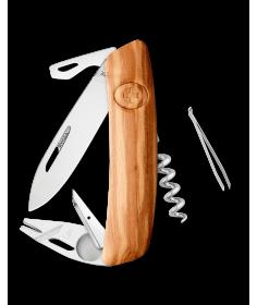 Swiza Swiss Knives Couteau suisse Swiza TT03 Wood Olive Tick-Tool (Bois d'olivier) KNI.0070.6310 - Coutellerie du Jet d'eau