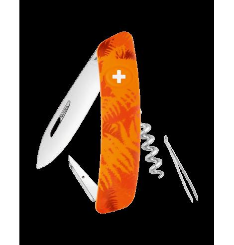Swiza Swiss Knives Couteau suisse Swiza C01 Camouflage Fougère KNI.0010.2050 - Coutellerie du Jet d'eau
