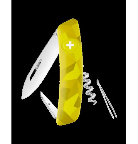 Swiza Swiss Knives Couteau suisse Swiza C01 Camouflage Urban KNI.0010.2030 - Coutellerie du Jet d'eau