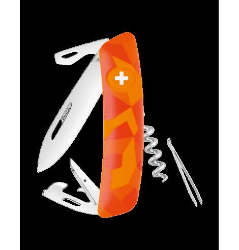Swiza Swiss Knives Couteau suisse Swiza C03 Camouflage Urban KNI.0030.2030 - Coutellerie du Jet d'eau
