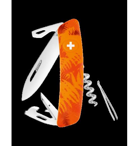 Swiza Swiss Knives Couteau suisse Swiza C03 Camouflage Fougère KNI.0030.2050 - Coutellerie du Jet d'eau