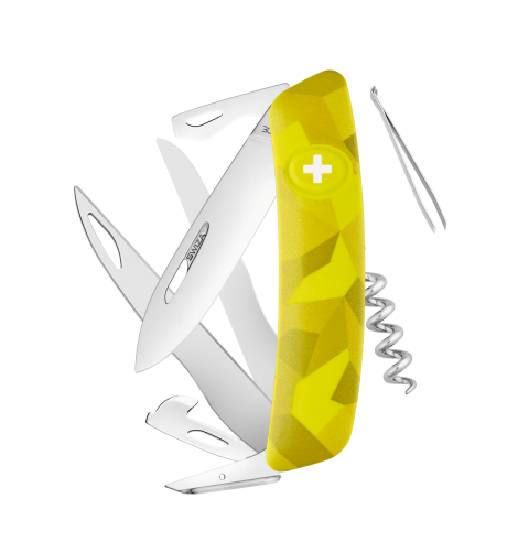 Swiza Swiss Knives Couteau suisse Swiza C07 Camouflage Urban KNI.0110.2030 - Coutellerie du Jet d'eau