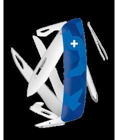Swiza Swiss Knives Couteau suisse Swiza C08 Camouflage Urban KNI.0120.2030 - Coutellerie du Jet d'eau
