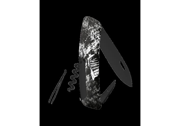 Swiza Swiss Knives Couteau suisse Swiza D01 Moonwalk 50 Allblack KNB.0013.MW50 - Coutellerie du Jet d'eau