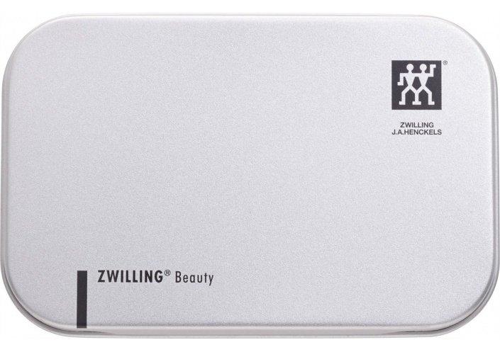 Zwilling Beauty Coupe-ongles Zwilling - Etui en cuir et boite en inox - Twin s (60mm) 42440-000-0 - Coutellerie du Jet d'eau