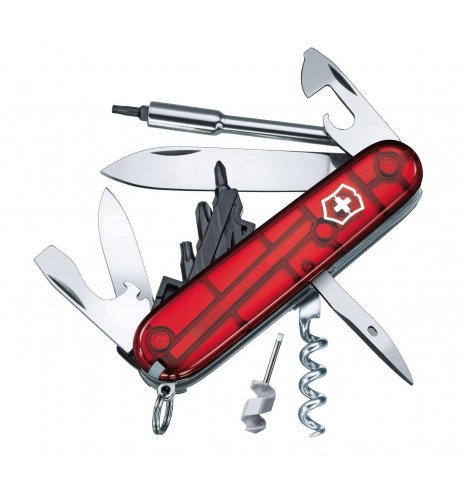 Victorinox Swiss Knives Couteau suisse Victorinox CyberTool S 1.7605.T - Coutellerie du Jet d'eau