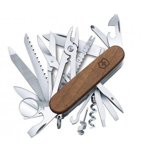 Victorinox Swiss Knives Couteau suisse Victorinox SwissChamp Wood 1.6791.63 - Coutellerie du Jet d'eau