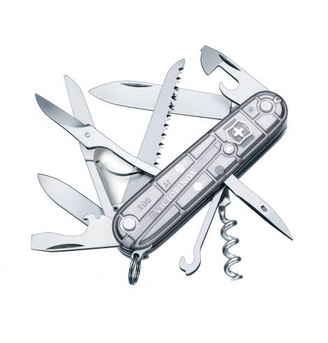 Victorinox Swiss Knives Couteau suisse Victorinox Hunstman SilverTech 1.3713.T7 - Coutellerie du Jet d'eau