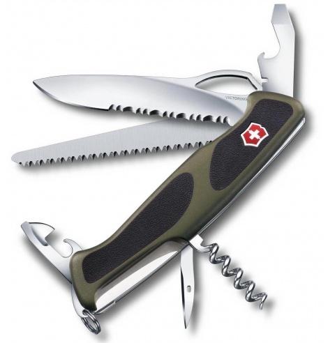 Victorinox Swiss Knives Couteau suisse Victorinox Ranger Grip 179 0.9563.MWC4 - Coutellerie du Jet d'eau