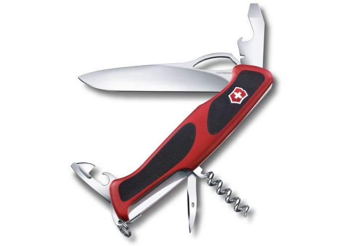 Victorinox Swiss Knives Couteau suisse Victorinox Ranger Grip 61 0.9553.MC - Coutellerie du Jet d'eau