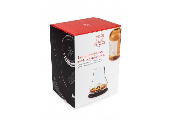 """Peugeot Set de dégustation Peugeot """"Les impitoyables"""" - Whisky 78266097 - Coutellerie du Jet d'eau"""