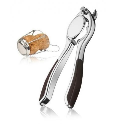 Vacuvin Pince ouvre bouteille à champagne Vacuvin 7268625 - Coutellerie du Jet d'eau