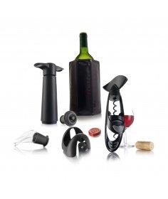 Vacuvin Coffret à vin Experience Vacuvin 7269001 - Coutellerie du Jet d'eau