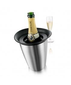 Vacuvin Refroidisseur à Champagne Vacuvin Élégant 7236473 - Coutellerie du Jet d'eau