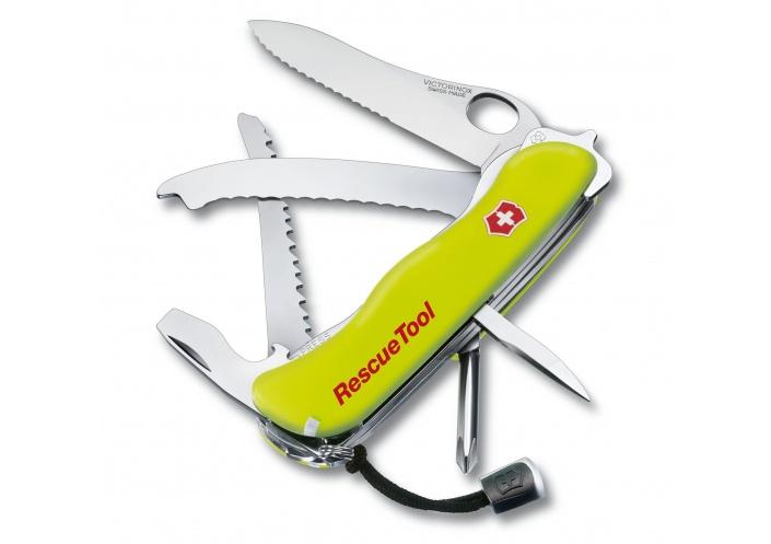 Victorinox Swiss Knives Couteau suisse Victorinox RescueTool 0.8623.MWN - Coutellerie du Jet d'eau