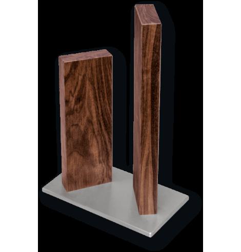 """Porte-couteaux magnétique KAI """"Stonehenge"""" en noyer (4 couteaux) STH-4.1 - Coutellerie du Jet d'eau"""