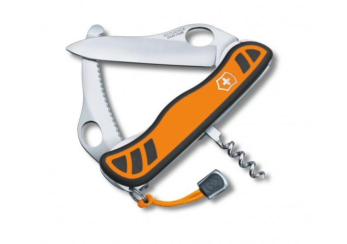 Victorinox Swiss Knives Couteau Victorinox Hunter XS Grip 0.8331.MC9 - Coutellerie du Jet d'eau