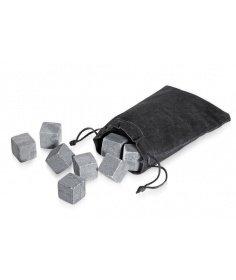 Cilio Lot de 9 glacons en pierre granit Cilio 150711 - Coutellerie du Jet d'eau