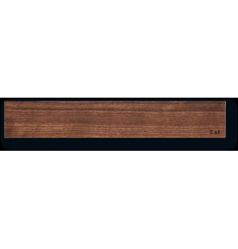 Barre magnétique en bois de noyer (39 cm) DM-0807 - Coutellerie du Jet d'eau