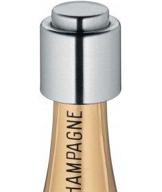 Cilio Bouchon pour bouteille de champagne Cilio, acier inox satiné 300888 - Coutellerie du Jet d'eau