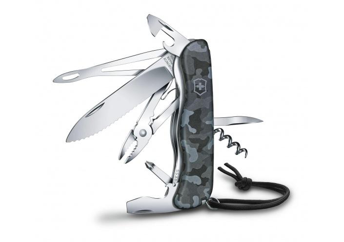 Victorinox Swiss Knives Couteau suisse Victorinox Skipper Camouflage 0.8593.W942 - Coutellerie du Jet d'eau