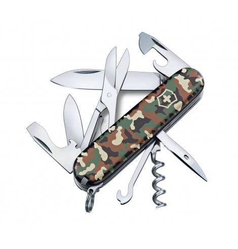 Victorinox Swiss Knives Couteau suisse Victorinox Climber Camouflage 1.3703.94 - Coutellerie du Jet d'eau
