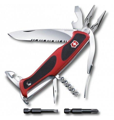 Victorinox Swiss Knives Couteau suisse Victorinox Ranger Grip 174 Handyman 0.9728.WC - Coutellerie du Jet d'eau