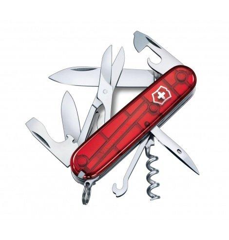 Victorinox Swiss Knives Couteau suisse Victorinox Climber Transparent 1.3703.T - Coutellerie du Jet d'eau