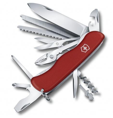 Victorinox Swiss Knives Couteau suisse Victorinox Work Champ 0.8564 - Coutellerie du Jet d'eau