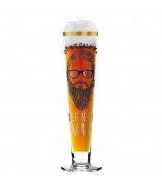 Ritzenhoff Verre à bière Ritzenhoff - Black Label - Bearded man 1010235 - Coutellerie du Jet d'eau