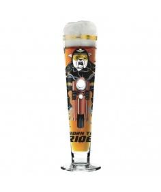 Ritzenhoff Verre à bière Ritzenhoff - Black Label - Born to ride 1010245 - Coutellerie du Jet d'eau