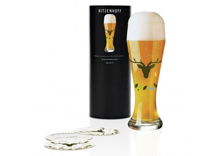 Ritzenhoff Verre à bière Ritzenhoff - Weizen - Cerf 1020218 - Coutellerie du Jet d'eau