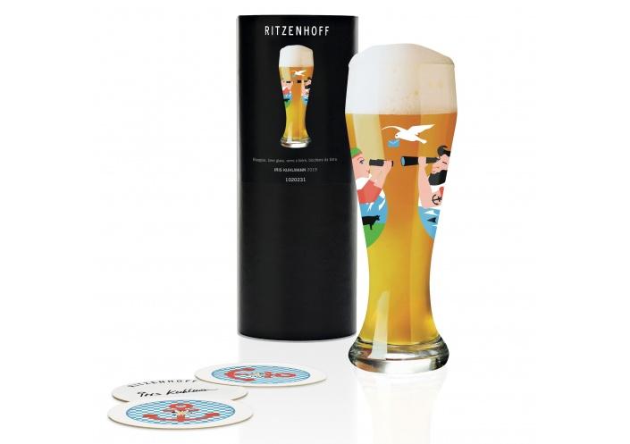 Ritzenhoff Verre à bière Ritzenhoff - Weizen - Voyage 1020231 - Coutellerie du Jet d'eau