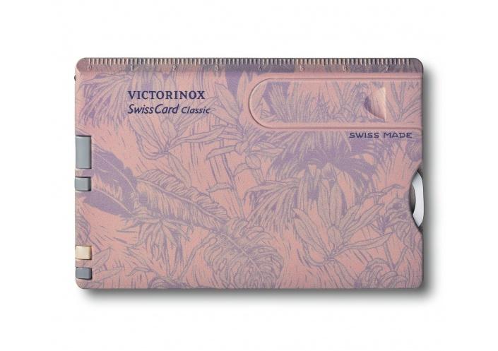 Victorinox Swiss Knives Victorinox SwissCard Classic Spring Spirit 0.7155 - Coutellerie du Jet d'eau