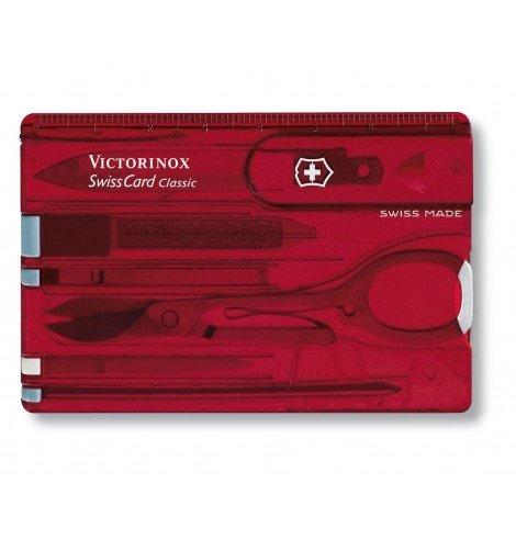 Victorinox Swiss Knives Victorinox SwissCard Classic 0.7100.T - Coutellerie du Jet d'eau