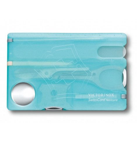 Victorinox Swiss Knives Victorinox SwissCard NailCare 0.7240.T - Coutellerie du Jet d'eau