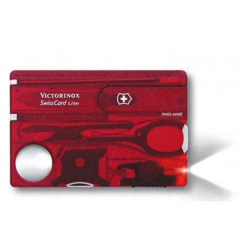 Victorinox Swiss Knives Victorinox SwissCard Light 0.7300.T - Coutellerie du Jet d'eau