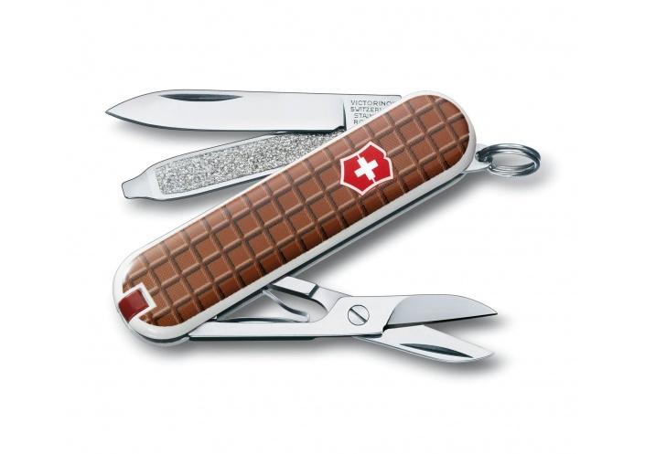 Victorinox Swiss Knives Couteau suisse Victorinox Classic SD Chocolate 0.6223.842 - Coutellerie du Jet d'eau