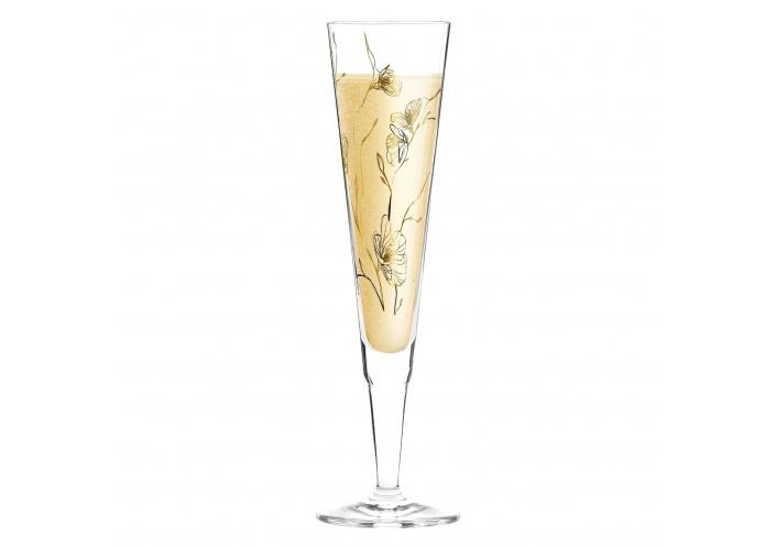 Ritzenhoff Flûte à champagne Ritzenhoff - Champus - Fleurs 1070277 - Coutellerie du Jet d'eau