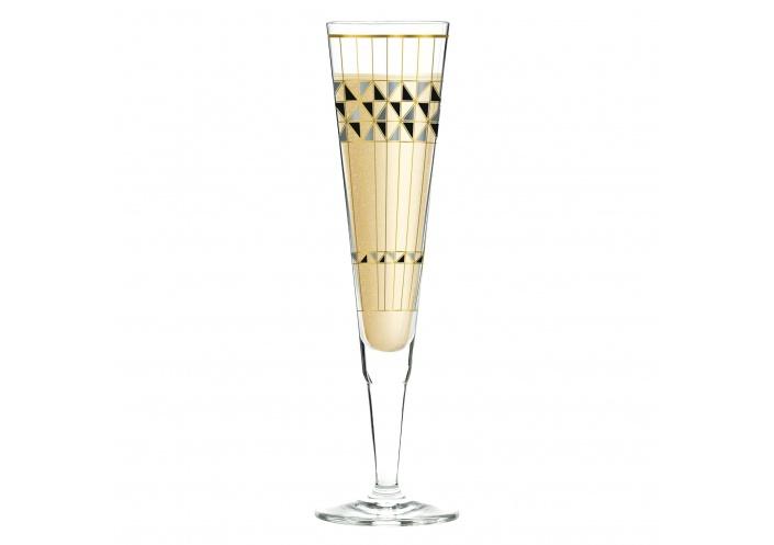 Ritzenhoff Flûte à champagne Ritzenhoff - Champus - Motif graphique 1070272 - Coutellerie du Jet d'eau