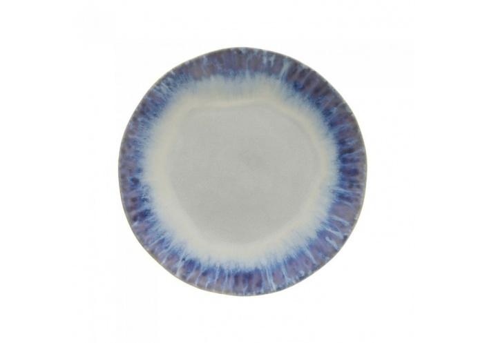 Costa Nova Assiette plate Costa Nova Bleu (Ø 26.5 cm) GOP261BLUE - Coutellerie du Jet d'eau
