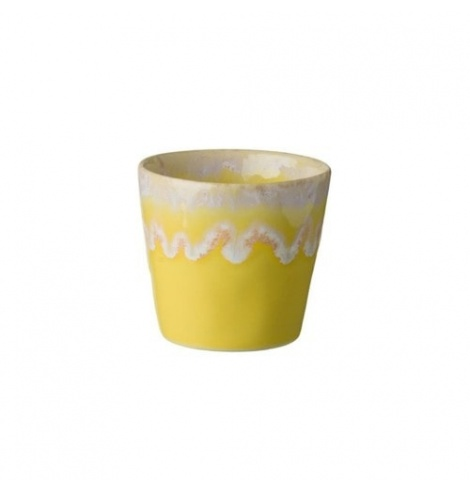 Costa Nova Lot de 6 gobelets à café Grespresso Costa Nova Jaune LSC081YE - Coutellerie du Jet d'eau