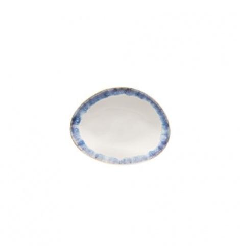 Costa Nova Set de 6 assiettes plates ovales Costa Nova Brisa (15.4 x 12 cm) Bleu GOP161BLUE - Coutellerie du Jet d'eau