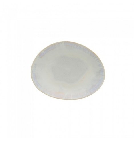 Costa Nova Brisa assiette plate ovale (20.3 x 15.8 cm) Sable GOP201SAL - Coutellerie du Jet d'eau