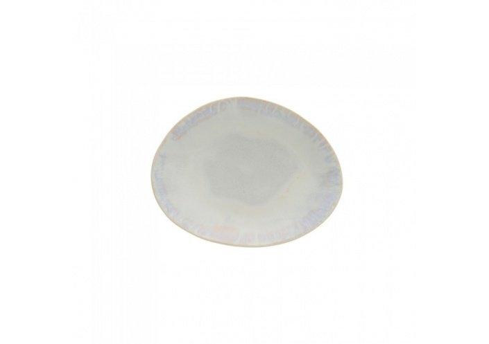 Costa Nova Set de 6 assiettes plates ovales Costa Nova Brisa (20.3 x 15.8 cm) Sable GOP201SAL - Coutellerie du Jet d'eau
