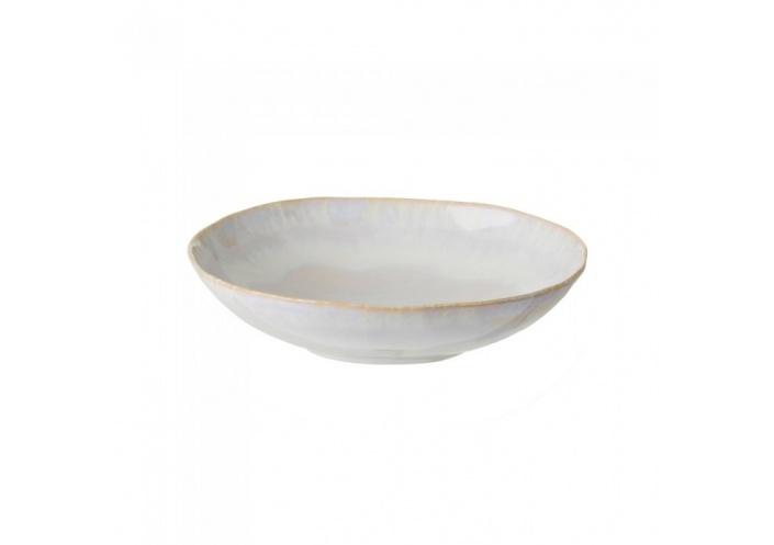 Costa Nova Brisa assiette creuse ovale (Ø 26.5 cm) Sable GOP231SAL - Coutellerie du Jet d'eau