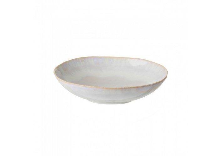 Costa Nova Set de 6 assiettes creuses ovales Costa Nova Brisa (Ø 26.5 cm) Sable GOP231SAL - Coutellerie du Jet d'eau