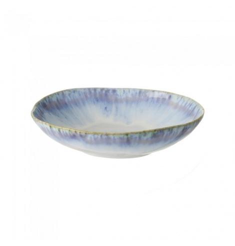 Costa Nova Set de 6 assiettes creuses ovales Costa Nova Brisa (Ø 26.5 cm) Bleu GOP231BLUE - Coutellerie du Jet d'eau