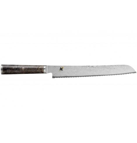 Miyabi Couteau à pain Miyabi 5000MCD 67 damas (24 cm) 34406-241-0 - Coutellerie du Jet d'eau